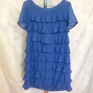 🌸2/$30🌸 Layered Blue H&M Dress